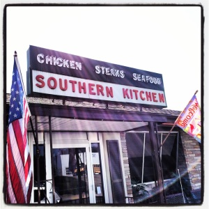 Southern Kitchen, just like the sign says