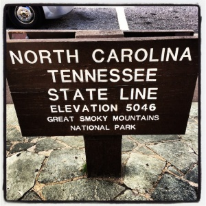 Flip side of the sign...I'm in North Carolina....