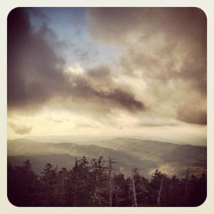 Overcast, but pretty
