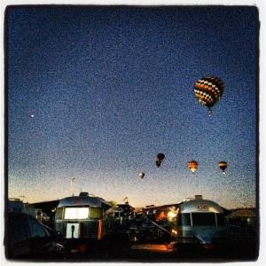 Balloons and Airstreams