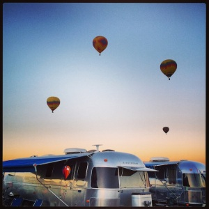 More balloons & Airstreams!