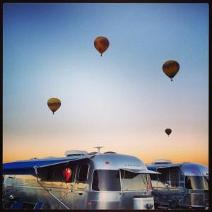 More balloons & Airstreams!