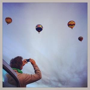 Mark & balloons