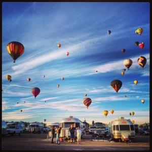 Airstreams & balloons