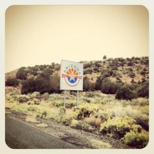 Arizona...very friendly place...welcoming us twice!