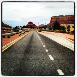 Just gettin' in to Sedona